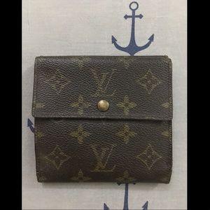 Authentic Louis Vuitton Monogram Elise Wallet